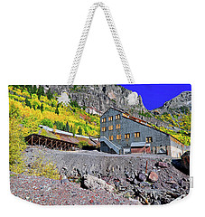 Weekender Tote Bag featuring the photograph Pandora Mill - Telluride - Colorful Colorado by Jason Politte