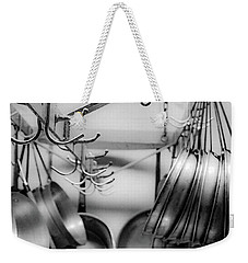 Weekender Tote Bag featuring the photograph Panhandler by Kendall McKernon