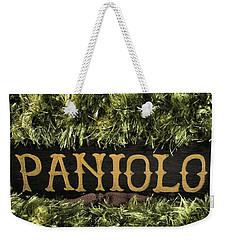 Weekender Tote Bag featuring the photograph Paniolo Pride by Pamela Walton