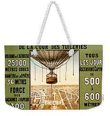 Panorama De Paris Weekender Tote Bag