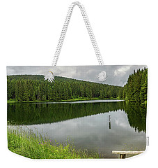 Panorama Liebesbankweg, Harz Weekender Tote Bag