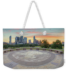 Panorama Of Downtown Austin, Texas, 3 Weekender Tote Bag