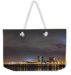 Panorama Of Reykjavik Iceland Weekender Tote Bag