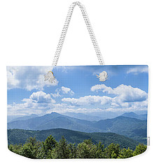 Panorama Of The Foothills Of The Pyrenees In Biert Weekender Tote Bag by Semmick Photo