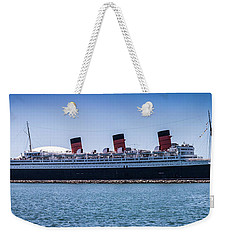 Panorama Of The Queen Mary Weekender Tote Bag