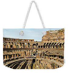 Inside The Colosseum Weekender Tote Bag