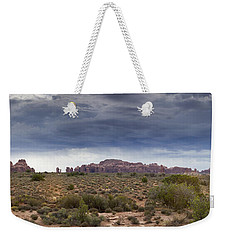 Panoramic View At Arches National Park Weekender Tote Bag