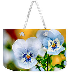 Pansy Forest Weekender Tote Bag