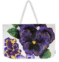 Pansy Weekender Tote Bag