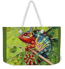 Panther Chameleon Weekender Tote Bag