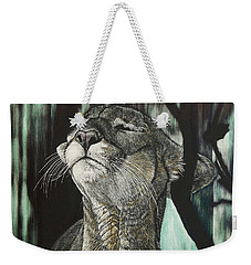 Panther, Cool Weekender Tote Bag