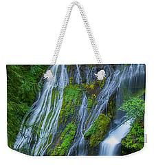 Panther Creek Falls Summer Waterfall 1 Weekender Tote Bag