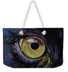 Panther Eye Weekender Tote Bag by Michael Creese