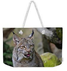 Panting Lynx Weekender Tote Bag