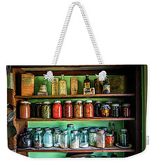 Weekender Tote Bag featuring the photograph Pantry by Paul Freidlund