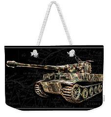 Panzer Tiger I Side Bk Bg Weekender Tote Bag