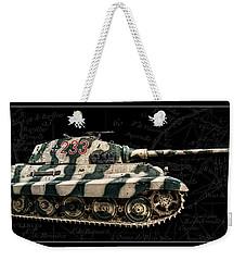 Panzer Tiger II Side Bk Bg Weekender Tote Bag