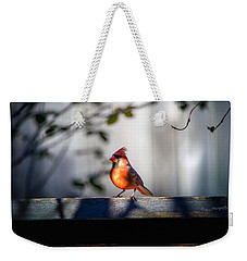Papa Cardinal Weekender Tote Bag