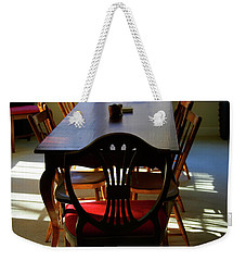 Papa Used To Sit There Weekender Tote Bag