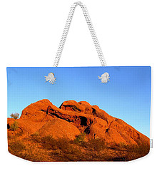 Weekender Tote Bag featuring the photograph Papago Park 2 by Michelle Dallocchio