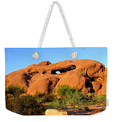 Weekender Tote Bag featuring the photograph Papago Park by Michelle Dallocchio