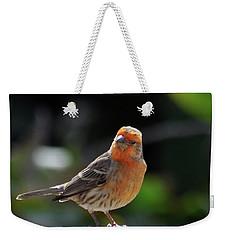 Papaya Bird Weekender Tote Bag