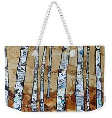 Paper Birch 3 Weekender Tote Bag