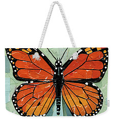 Paper Butterfly - Monarch Weekender Tote Bag by Shawna Rowe