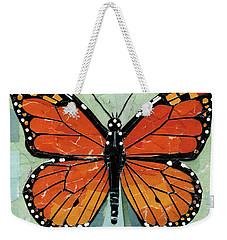 Paper Butterfly - Monarch Weekender Tote Bag