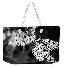Paper Kite In Black And White Weekender Tote Bag