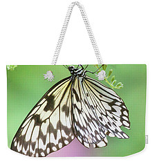 Paper Kite In Green And Purple  Weekender Tote Bag