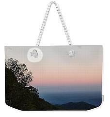Paper Moon Over Blue Ridge Weekender Tote Bag