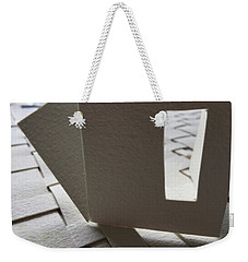 Paper Structure-3 Weekender Tote Bag
