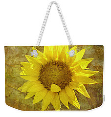 Weekender Tote Bag featuring the photograph Paper Sunshine by Melinda Ledsome