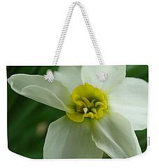 Paper White Weekender Tote Bag
