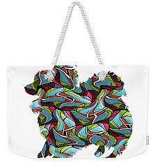 Papillion 2 Spirit Glass Weekender Tote Bag