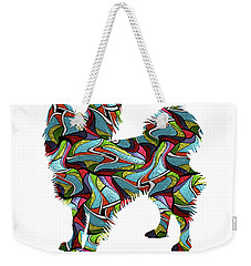 Papillion Spirit Glass Weekender Tote Bag