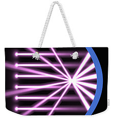 Weekender Tote Bag featuring the digital art Parabolic Reflector 2 by Russell Kightley