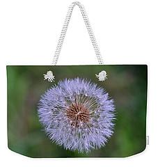 Parachute Club- Dandelion Gone To Seed Weekender Tote Bag by David Porteus