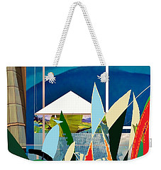 Paradise Weekender Tote Bag by Andrew Drozdowicz
