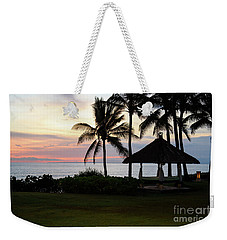 Paradise At Dusk Weekender Tote Bag