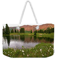 Weekender Tote Bag featuring the photograph Paradise Basin by Steve Stuller