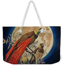 Paradise Birds Weekender Tote Bag