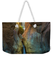 Weekender Tote Bag featuring the photograph Paradise Falls by Darren White
