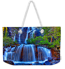 Paradise Falls Weekender Tote Bag by Scott Mahon