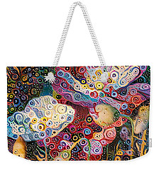 Paradise Flowers 07 Weekender Tote Bag