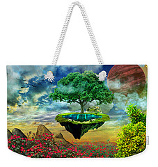 Paradise Island Weekender Tote Bag by Ally White