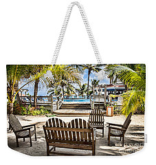 Weekender Tote Bag featuring the photograph Paradise by Lawrence Burry