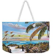 Paradise Weekender Tote Bag by Lloyd Dobson