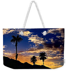 Weekender Tote Bag featuring the photograph Paradise Palm Springs by Chris Tarpening